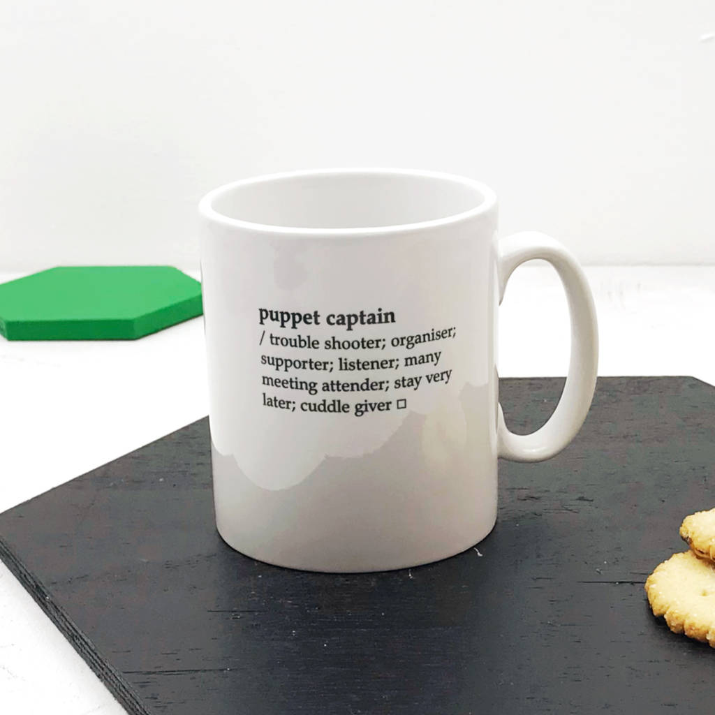 personalised dictionary definition mug by xoxo