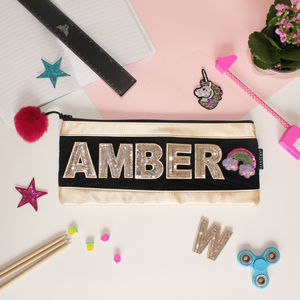 Personalised Long Pencil Case For Girls - gifts for babies & children