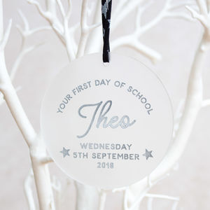 First Day Of School Keepsake Decoration - home accessories