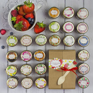 Mother's Day Mini Jam And Marmalade Taster Box - jams & preserves