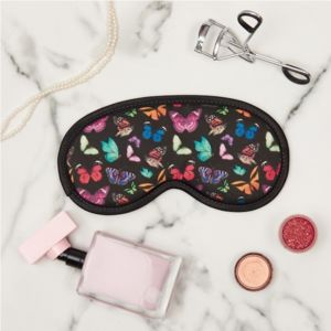 Eye Mask In Butterfly With Or W/O Lavender - eye masks & neck pillows