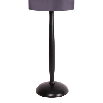 Painted Wooden Table Lamp