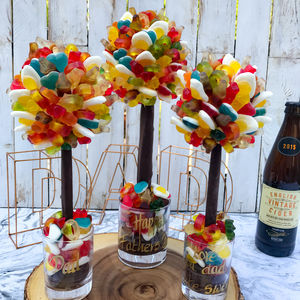 Personalised Haribo Edible Sweet Tree - gifts for her sale