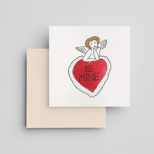 Hand Painted Valentine's Day Card - new in valentine's day