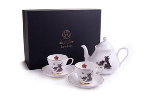 Home Sweet Home UK And Ireland Map Tea Set Gift Box