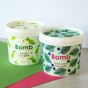 Scrumptious Shower Body Scrub - stocking fillers for her