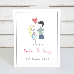 Personalised Couple Card