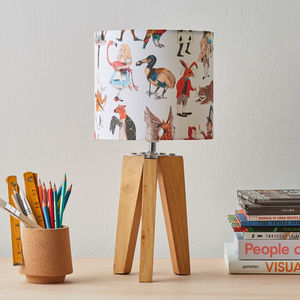 Alice In Wonderland Character Lampshade - bedroom
