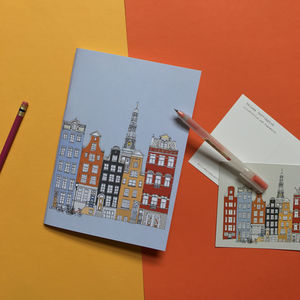 Amsterdam Cityscape Notebook