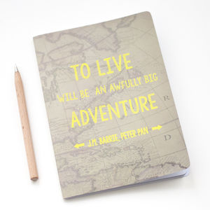Big Adventure Notebook - travel journals & diaries