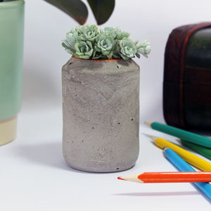 Concrete Pot - kitchen