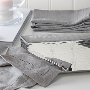 Grey Washed Napkin Set - napkins