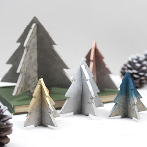 Colour Block 3D Christmas Tree