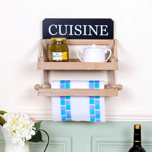 Two Tier Kitchen Wall Store - shelves