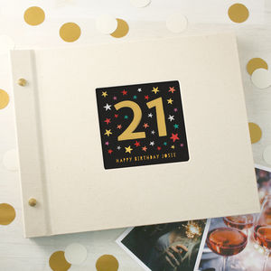 Personalised 21st Birthday Photo Album