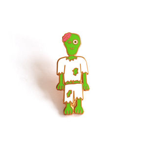 Zombie Pin Badge