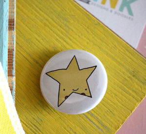 Star Badge 38mm 'Shine Like Stars'