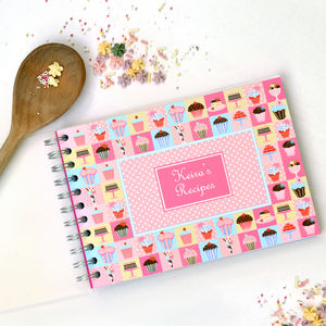 Personalised Book Of Baking Ideas