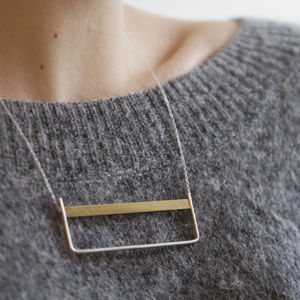 Horizon Necklace - necklaces & pendants