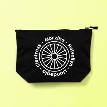 Personalised Men's Biking Toiletries Bag