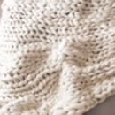Woolacombe Super Chunky Hand Knitted Throw