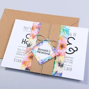 Wedding Invitation And RSVP : Hogsmeade