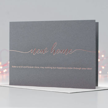 Make A Wish In Your New Home Card