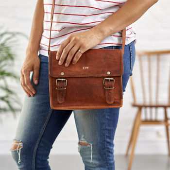 Vintage 'Mini' Leather Bag