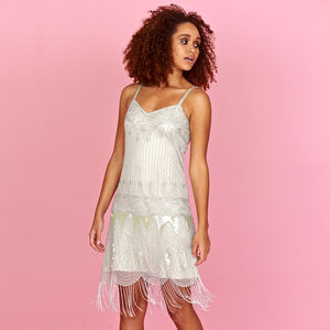 Avra Sequin Flapper Dress - new in fashion