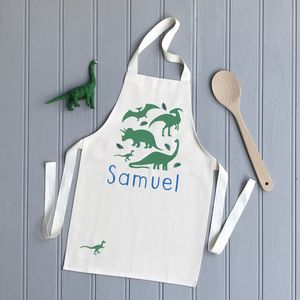 Personalised Dinosaur Apron - kitchen