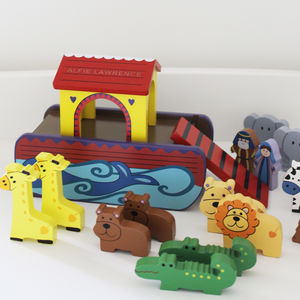 Personalised Wooden Noah's Ark - toys & games