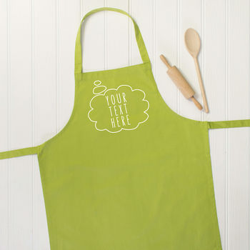Personalised Thought Bubble Apron