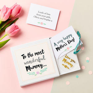 Mother's Day Keepsake Gift Set - decorative accessories