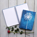 Allium Winter Seed Head Notebook / Journal