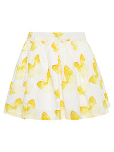 Julie Butterfly Print Cotton Skirt - children's skirts