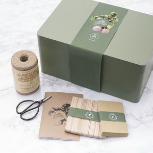 The Mighty Seed Storage Box In Green - gifts for her