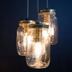 Preserve Jar Pendant Light - lighting