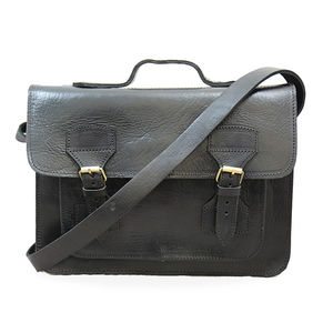Bailey Leather Briefcase - bags
