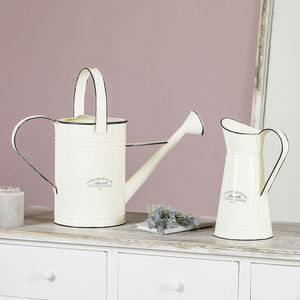 Personalised Metal Country Cream Collection - tableware