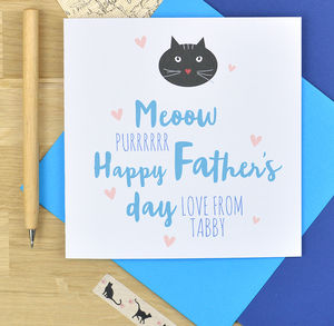 From The Cat Father's Day Card - what's new