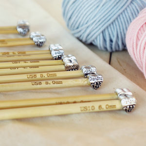 Grandma Knitting Needles Six Pair Set - creative kits & experiences