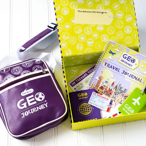 Kids Geography Adventure Kit And Subscription