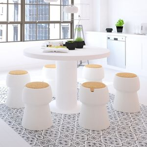 Champagne Cork Shaped Stool / Ice Bucket - garden furniture