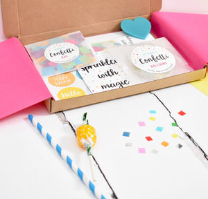 Personalised Celebration/Birthday Party Box - decoration