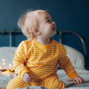 Organic Cotton Stripe Kids Pyjamas