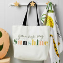 Children's You Are My Sunshine Nursery Changing Bag