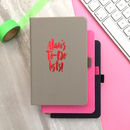 Personalised Name Notebook