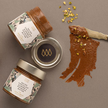 Salted Almond And Pistachio Chocolate Nut Butter