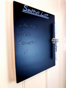 Blackboard / Kitchen Message Board A5 Or A4 Size - storage & organising
