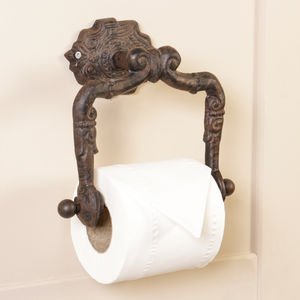 Traditional Style Wall Mounted Toilet Roll Holder